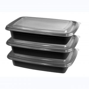 20 Piece Meal Prep Container Kit – 1 Section – ... BAKE & STORE