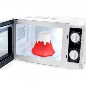 Volcano Microwave Cleaner HOME instant microwave cleaner