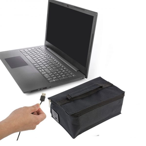 USB Powered Thermal Lunch Box Warmer BAKE & STORE Bento 6