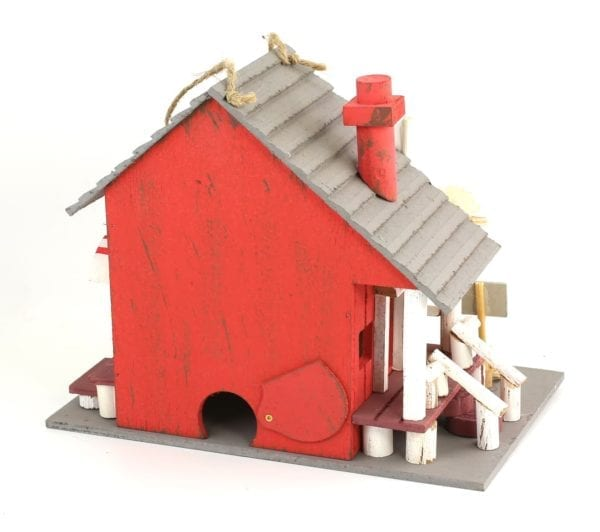 COUNTRY STORE BIRDHOUSE BACK