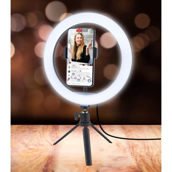 Ring Light with Tripod Stand Gifts bright ring light 7