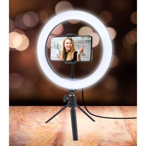 Ring Light with Tripod Stand Gifts bright ring light 8