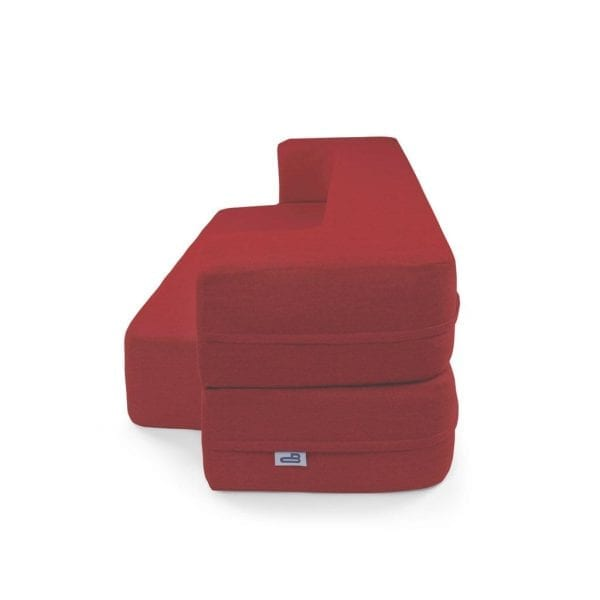 Red Couchbed HOME FURNISHINGS CouchBed 4