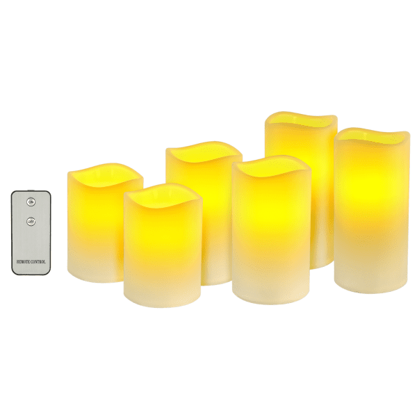 Flameless LED Wax Candles LED LIGHTS brilliant wax candles 3