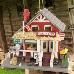 Main Street Country Store Style Birdhouse Best Sellers americana style