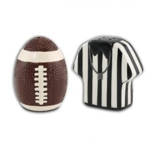 Tailgate Salt & Pepper Shaker Set – Ceramic Kitchen