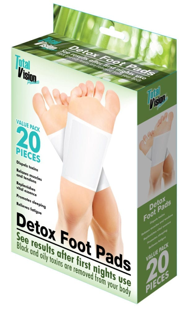 DETOX PADS 20 PC SET