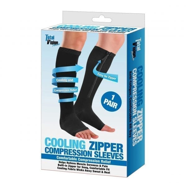 Cooling Zipper Compression Sleeves COMPRESSION amazon cooling socks 4