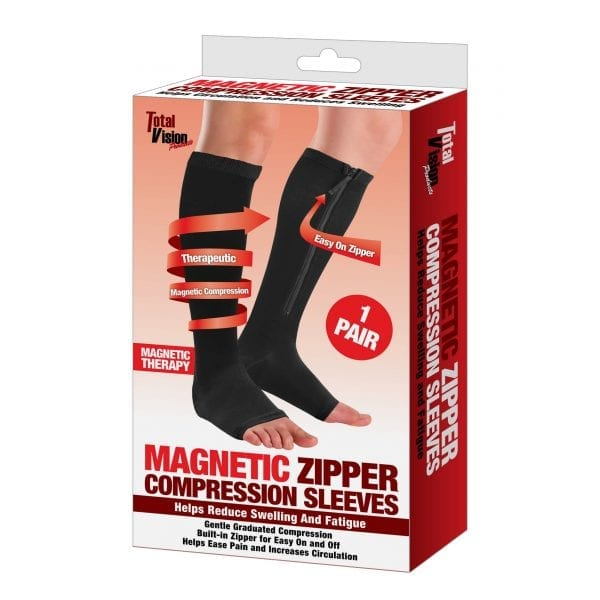 Magnetic Zipper Compression Sleeves COMPRESSION compression socks diabetes 4
