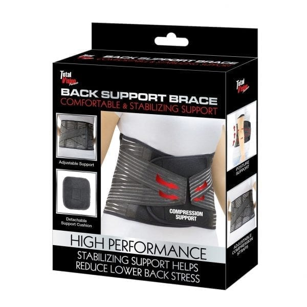 High Performance Back Support Brace COMPRESSION back relief pain 7