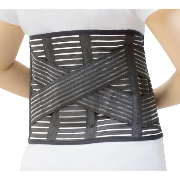 High Performance Back Support Brace COMPRESSION back relief pain 5