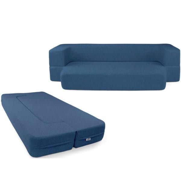 Blue Couchbed HOME FURNISHINGS CouchBed 8