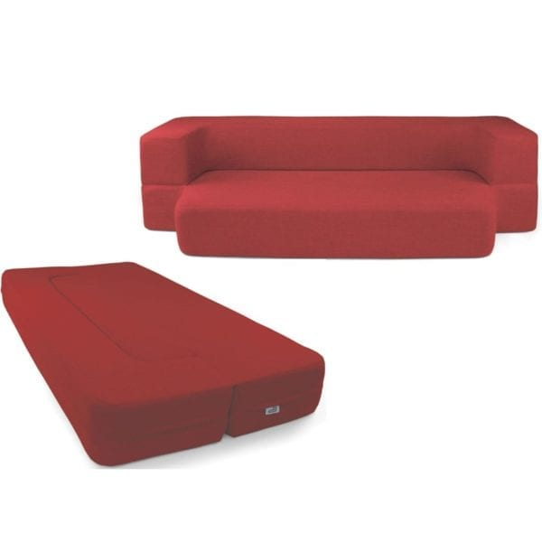 Red Couchbed HOME FURNISHINGS CouchBed 6
