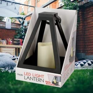 Diamond Lantern with LED LED LIGHTS hanging LED lantern 9