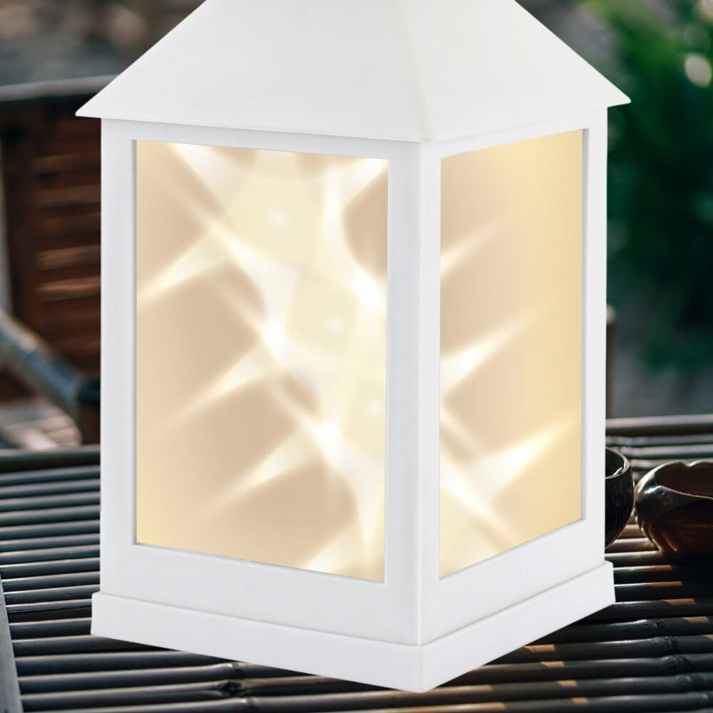 Classic Star White Lantern LIGHTING fine life products outdoor 7