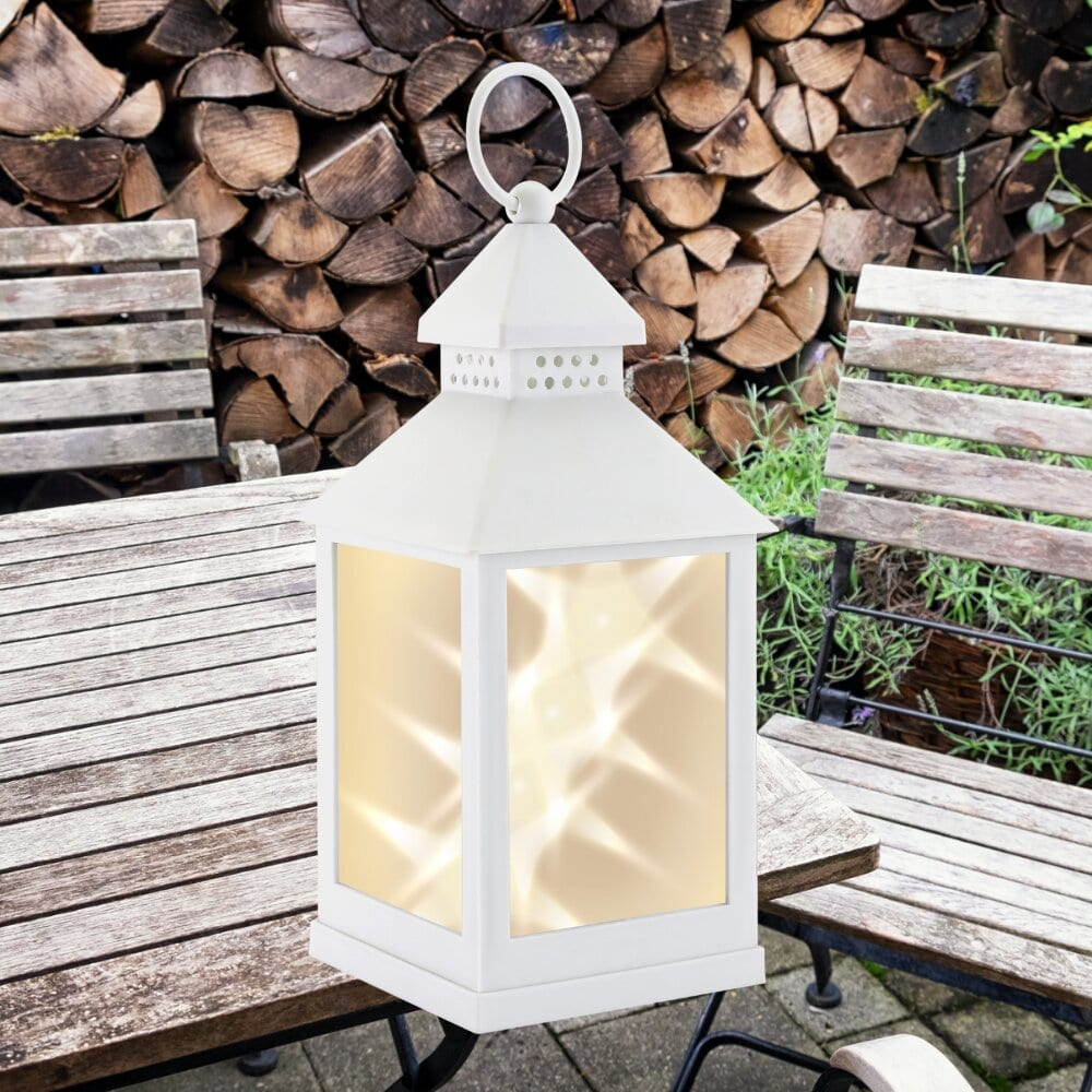 Classic Star White Lantern LIGHTING fine life products outdoor 8