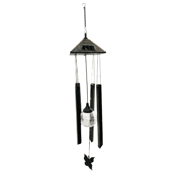 Solar Color-Changing Light & Wind Chime CAMPING wind chime 4